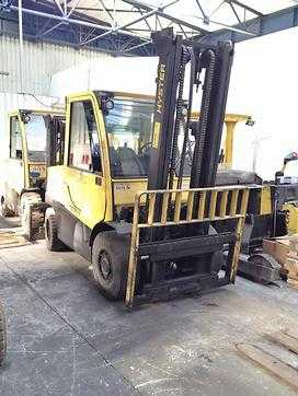 Used Forklifts Hyster Τετράτροχα περονοφόρα εμπρόσθιας φόρτωσης H4.5FT (Offer 11548567)