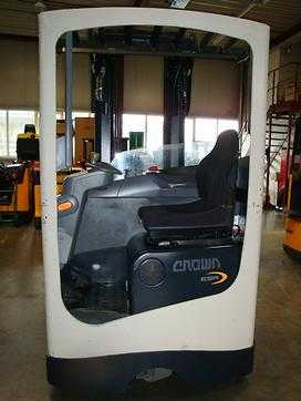 Used Forklifts Crown Greifera iekrāvējs ESR4500 (Image  1)