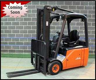 Used Forklifts Linde 3 wheel forklift truck E18 (386) (Offer 11962306)
