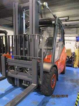 Used Forklifts Linde 4 wheel forklift truck H50D-02 (394) (Offer 11917700)