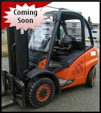 Used Forklifts Linde 4 wheel forklift truck H40D (394) (Offer 11935585)