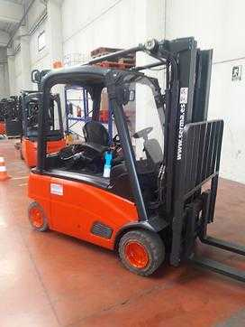 Used Forklifts Linde 4 wheel forklift truck E20 PL (Offer 12112203)